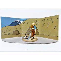 Coffret scène Tintin-Le temple du soleil n°12- collector