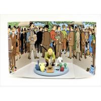 Coffret scène Tintin-Le secret de la licorne n°15- collector