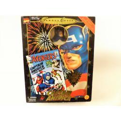 Marvel- Figurine Captain America-Toybiz