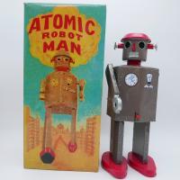 Robot - Atomic Robot man - Vintage metal robot -Schylling