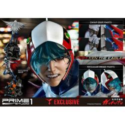 Gatchaman - Full tema resin statue Ken the eagle - Mint in box - Prime 1 studio