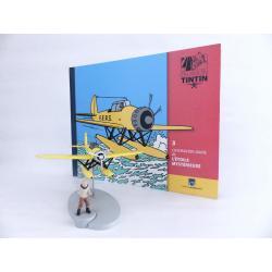 En avion Tintin, L'hydravion jaune de l'étoile mystérieuse (n°3)