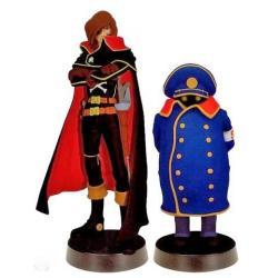 Captain Harlock  30 cm  statue coffret - Taito