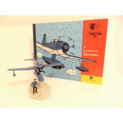 En avion Tintin, L'hydravion bleu de coke en stock (n°4)