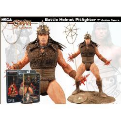 Conan le Barbare - action Figure pit fighter Arnold Schwarzenegger MIB - Neca