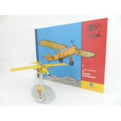 En avion Tintin, L'avion orange des cigares du pharaon (n°7)