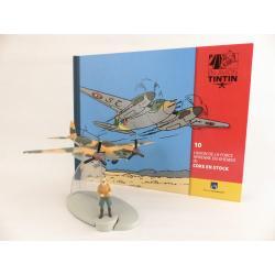 En avion Tintin, L'avion de la force aérienne de Khemed de Coke en stock (n°10)