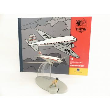 En avion Tintin, Le Douglas DC-3 de Tintin au Tibet (n°12)