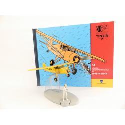 En avion Tintin, l'avion de reconnaissance de Coke en stock (n°13)