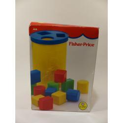 Jeu-Fischer price rétro premiers cubes