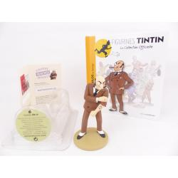 Figurine collection officielle Tintin n°9 Rastapopoulos au tatouage