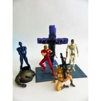 Cobra-set 5 figurines PVC