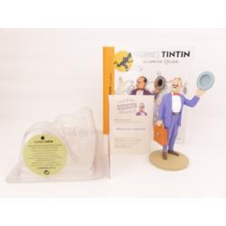 Figurine collection officielle Tintin n°11 Séraphin Lampion à la malette