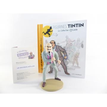 Figurine collection officielle Tintin n°12 le docteur Muller incendiaire