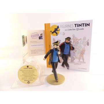 Figurine collection officielle Tintin n°13 Haddock en route