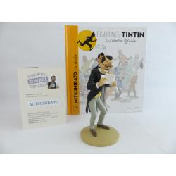 Figurine collection officielle Tintin n°14 Mitsuhirato à la colombe
