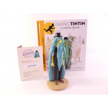 Figurine collection officielle Tintin n°15 Dupont un cas extraordinaire
