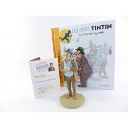 Figurine collection officielle Tintin n°16 Oliveira da Figueira