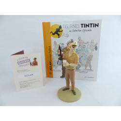 Figurine collection officielle Tintin n°21 Allan provoque Haddock