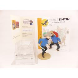 Figurine collection officielle Tintin n°24 Haddock en Hadoque