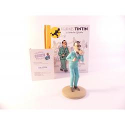 Figurine collection officielle Tintin n°26 Baxter directeur de base