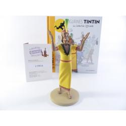 Figurine collection officielle Tintin n°27 L'inca noble fils du soleil