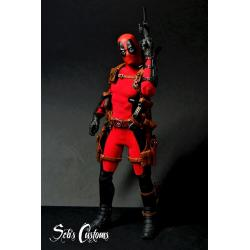 Deadpool-Figurine Marvel-Fan'art-1/6 scale-Modèle unique