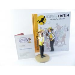 Figurine collection officielle Tintin n°28 Tournesol en jardinier