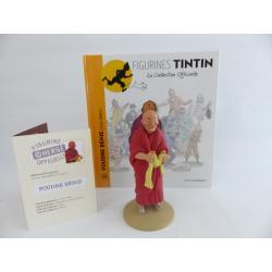 Figurine collection officielle Tintin n°29 Foudre bénie moine tibétain