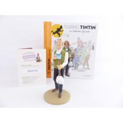 Figurine collection officielle Tintin n°31 Nestor au plumeau