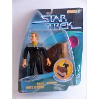 Star Trek deep space nine -Chief Miles O'Brien-Action figure en boîte-Playmates