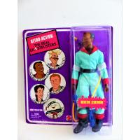 Ghosbusters-Peter Winstone Zeddmore-Mego action figure-retro-Mattel