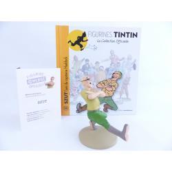 Figurine collection officielle Tintin n°33 Szut l'ami du capitaine Haddock