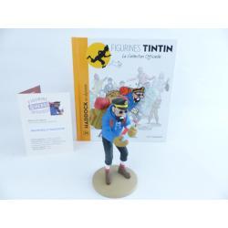 Figurine collection officielle Tintin n°34 Haddock en alpiniste