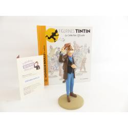 Figurine collection officielle Tintin n°35 Monsieur Boullu le marbrier