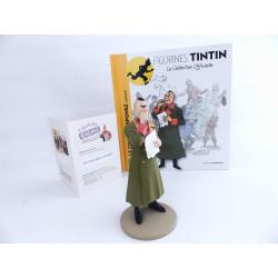 Figurine collection officielle Tintin n°37 Le colonel Sponsz contrarié