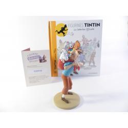 Figurine collection officielle Tintin n°39 Tintin ramène Milou