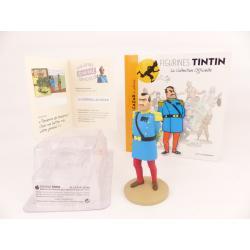 Figurine collection officielle Tintin n°42 Alcazar en uniforme