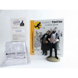 Figurine collection officielle Tintin n°43 Le professeur Bergamotte hilare