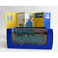 En voiture Tintin n°43-Le Land Rover du général Tapioca-Editions Atlas