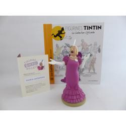 Figurine collection officielle Tintin n°48 La castafiore en concert