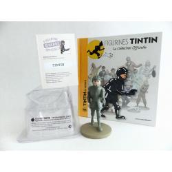 Figurine collection officielle Tintin n°49 Tintin en armure