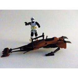 Star wars-Speeder bike & pilote en loose-Kenner