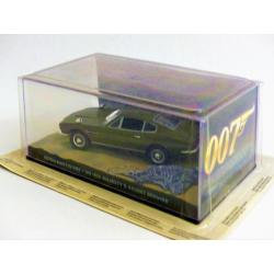 Les voitures de James Bond-n°12-Aston Martin DBS-On her majesty's secret service-Fabbri