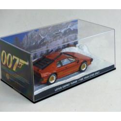 Les voitures de James Bond-n°09-Lotus esprit turbo-Fabbri-For your eyes only