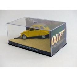Les voitures de James Bond-n°05- Citroën 2 CV-Fabbri-For your eyes only