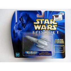 Star wars micro machines - chasseur stellaire - véhicule en métal - Hasbro