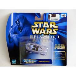 Star wars micro machines -Gian speeder- véhicule en métal - Hasbro