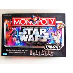 Jeu - Monopoly Star wars trilogy VO - Parker brothers