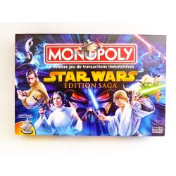 Jeu - Monopoly Star wars Edition saga - Parker brothers